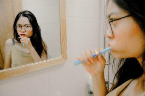 Att borsta tänderna!